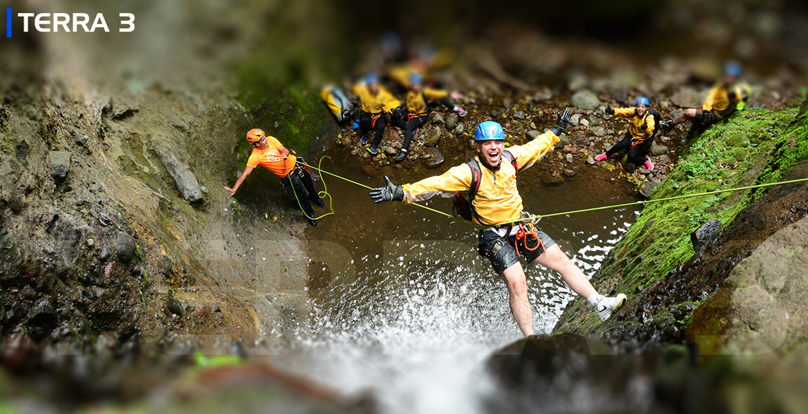 canyoning barranquismo cañonismo torrentismo