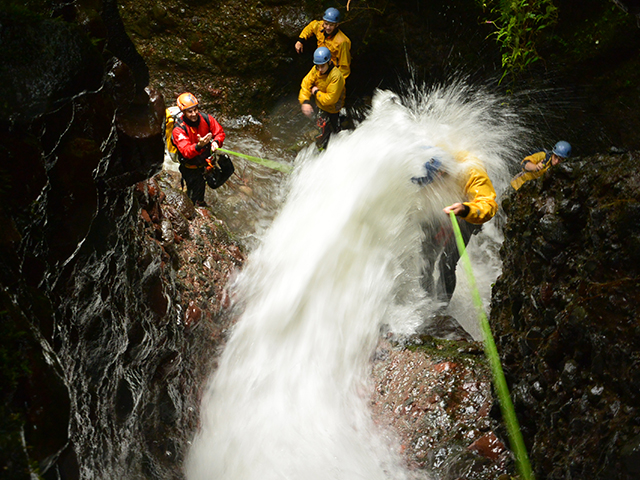 canyoning taxco